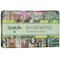 My Spa Life, Мыло ручной работы в газетной упаковке, Эвкалипт, 100 г