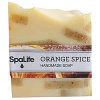 My Spa Life, Квадратное мыло ручной работы, Апельсин со специями, 100 г