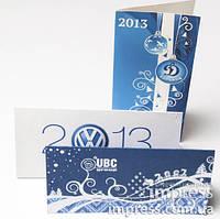 Изготовление открыток и пригласительных, персональные и стандартные, тираж от 1 штуки