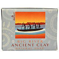 Zion Health, Натуральное мыло из древней глины, Big River, 300 г (10,5 унций)