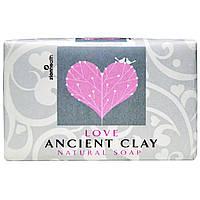 Zion Health, Натуральное мыло, древняя глина, любовь, 6 унций (170 г)
