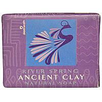 Zion Health, Натуральное мыло из древней глины, весенняя река, 300 г (10,5 унций)