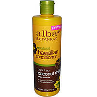 Alba Botanica, Натуральный гавайский кондиционер с кокосовым молоком, 12 унций (340 г)