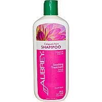 Aubrey Organics, Шампунь с экстрактом папоротника, Восстановление, для всех типов волос, 11 жидких унций (325 мл)