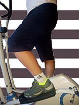 Бриджи мужские трикотаж - в больших размерах 3XL Синий, фото 3