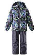 Демисезонный  комплект (ветровка + штаны) для мальчика Lassie by Reima 723702 - 8812. Размеры 104 - 128..