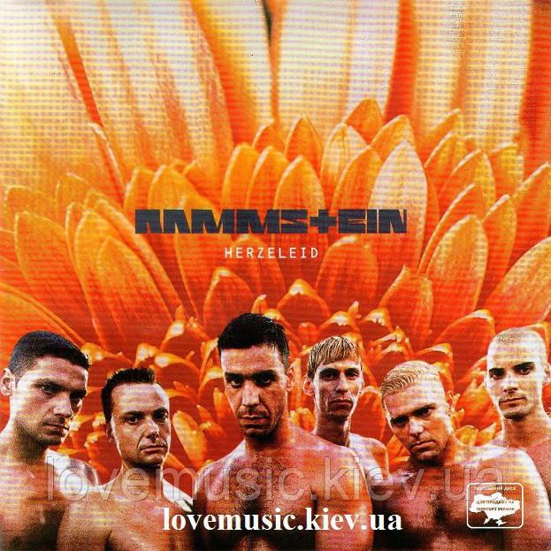 Музичний сд диск RAMMSTEIN Herzelaid (1995) (audio cd)
