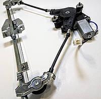 Стеклоподъемник ВАЗ 2109, 21099, 2114, 2115 электрический передний левый в сборе с моторедуктором