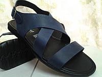 Стильные синие сандалии Rondo