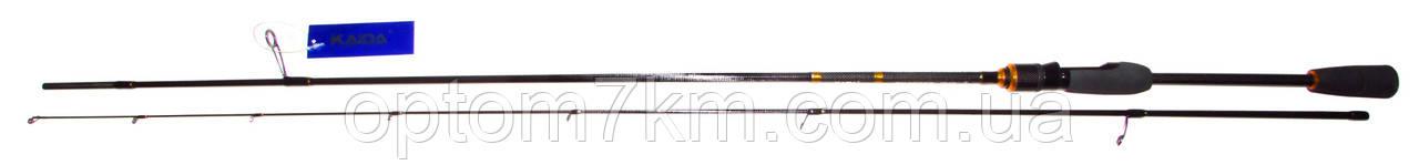 Спиннинг Kaida Swagger 2m, тест 0,4-8g