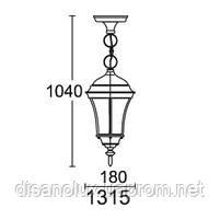 Светильник парковый уличный 1315  DALLAS I, фото 2