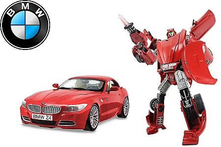 Робот-трансформер Roadbot BMW Z4 50180R