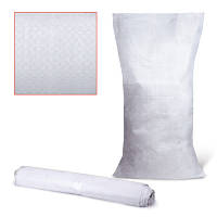 Мешок для строит. мусора тканый полипропиленовый 55х105 см