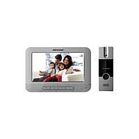 Комплект домофон + вызывная панель Hikvision DS-KIS202, фото 1
