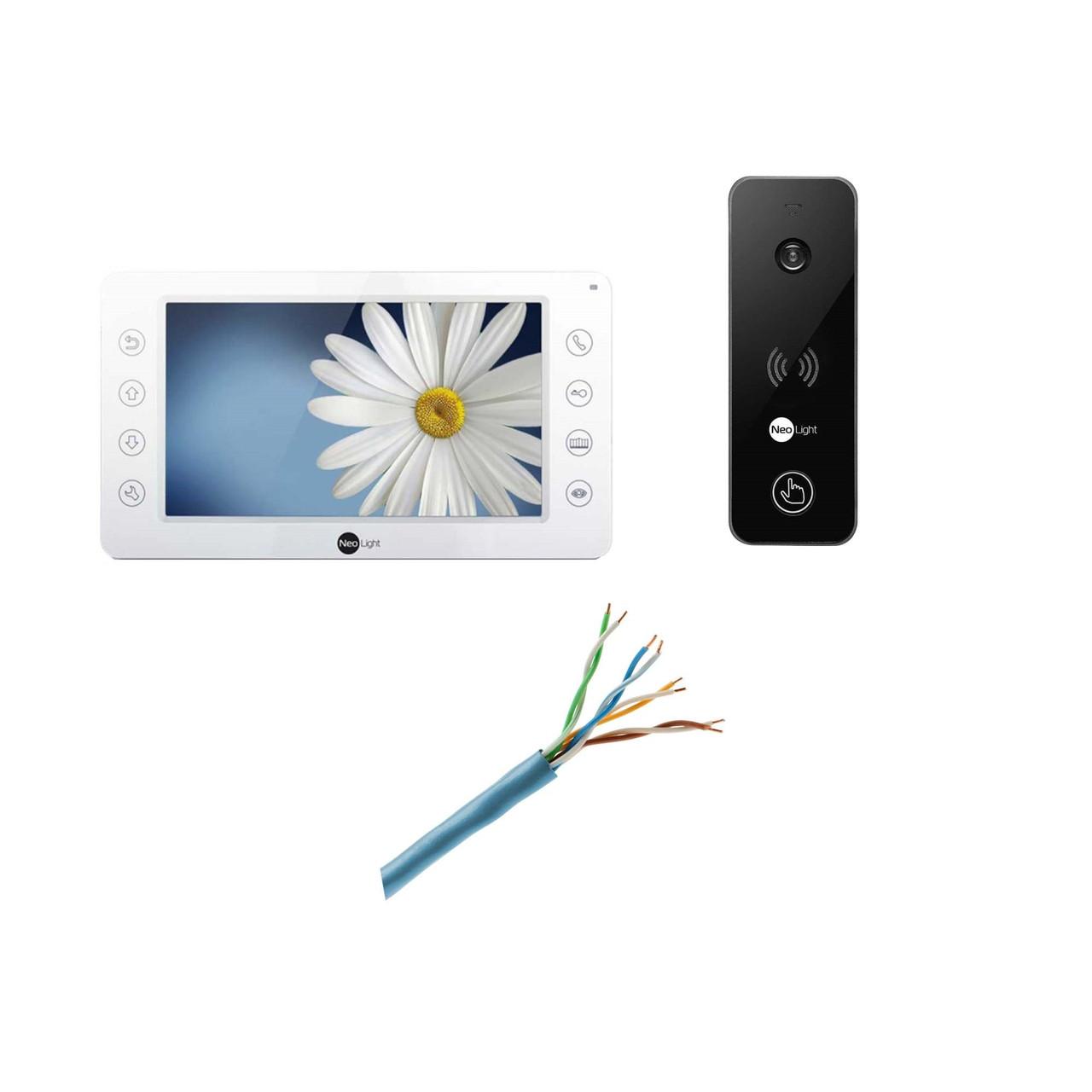 Комплект видеодомофона Neolight Kappa и  Neolight Optima