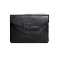 Кожаная папка для MacBook Issa Hara MC13 (11-00)К черная