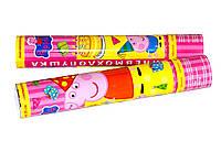 Хлопушка пневматическая «Свинка Пеппа». Размер: 30см. Начинка: Метафан.