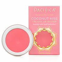 Pacifica, Coconut Kiss, Creamy Lip Butter, Shell, Lasting Color & Hydration, 0.23 oz