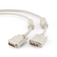 Кабель DVI-DVI 4,5 м Cablexpert CC-DVI-15
