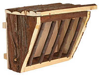 Кормушка для грызунов, для сена (дерево) 20х15х17 см