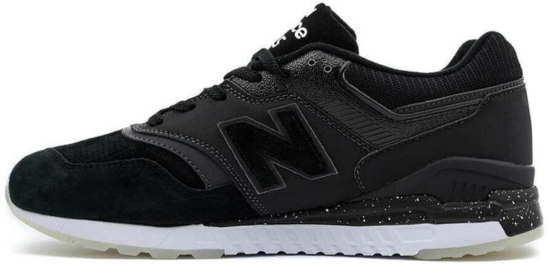 Кроссовки New Balance REVlite 997.5 Black, Нью Беланс 997.5 черные