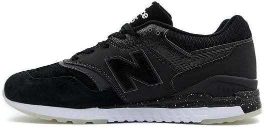 Кроссовки New Balance REVlite 997.5 Black, Нью Беланс 997.5 черные, реплика