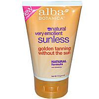 Alba Botanica, Sunless Tanning Lotion, 4 oz (113 g)