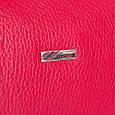 Женская кожаная косметичка Desisan красный, фото 5