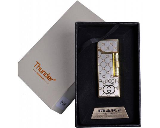 Спиральная USB зажигалка Thunder №4696-1, выбрасываем спички и прежние зажигалки, нет газа или бензина, фото 2