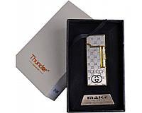 Спиральная USB зажигалка Thunder №4696-1, выбрасываем спички и прежние зажигалки, нет газа или бензина