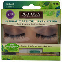 EcoTools, Naturally Beautiful Lash System, 1 Lash Set
