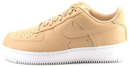 Кроссовки Nike air force 1 Low Nikelab Vachetta Tan Beige, найк аир форс, реплика
