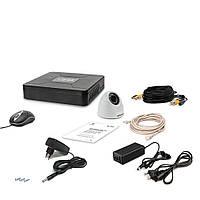 Комплект проводного видеонаблюдения Tecsar 1IN DOME