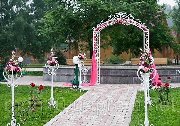 Арка свадебная кованая (220 х 270 см)
