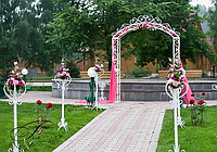 Арка свадебная кованая (220 х 270 см), фото 1