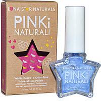 Luna Star Naturals, Pinki Naturali, Минеральный лак для ногтей, Little Rock, 0,25 жидких унций (7,5 мл)