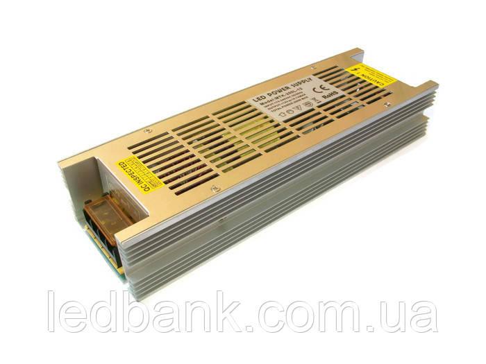 Узкий блок питания для светодиодной ленты MTR- 200W-12V 16,7A Premium