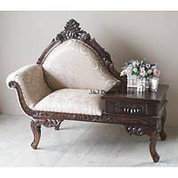 Стильный новый деревянный диван