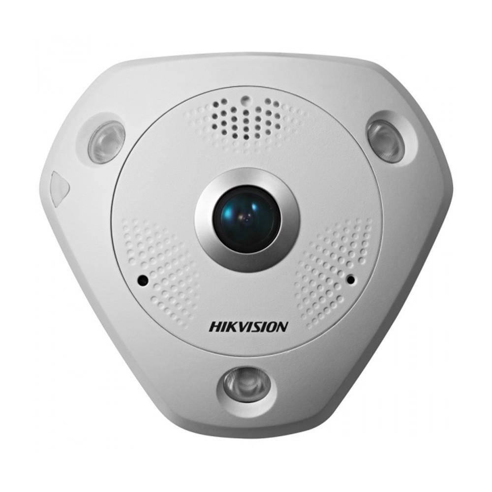 Фіксована купольна панорамна IP-відеокамера HikVision DS-2CD6332FWD-IV