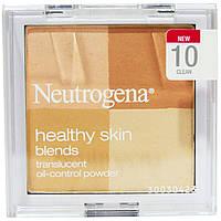 Neutrogena, Здоровая кожа, матовая пудра, контроль жирности, 10 Clean, 0,30 унции (8,48 г)