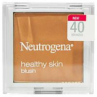 Neutrogena, Здоровый кожа, румяна, бронза 40, 0,19 унции (5,26 г)