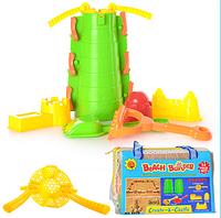 Набор для песочницы формы Замок 14 предметов