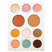 Pacifica, Палитра минеральной косметики для макияжа, солнечный оттенок, 0.8 унции (22 г)