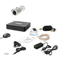 Комплект проводного видеонаблюдения Tecsar 2OUT-MIX LUX