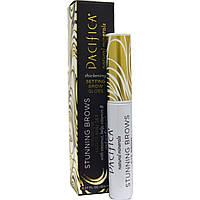 Pacifica, Восхитительные брови, Карандаш для придания бровям блеска и формы, Золотистый коричневый, 0.27 унции (8.0 мл)