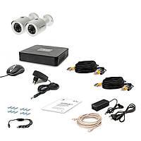 Комплект проводового відеоспостереження Tecsar 2OUT LUX, фото 1