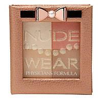 Physicians Formula, Inc., Nude Wear, палетка Touch of Glow, средняя, 0.24 унции (7 г)