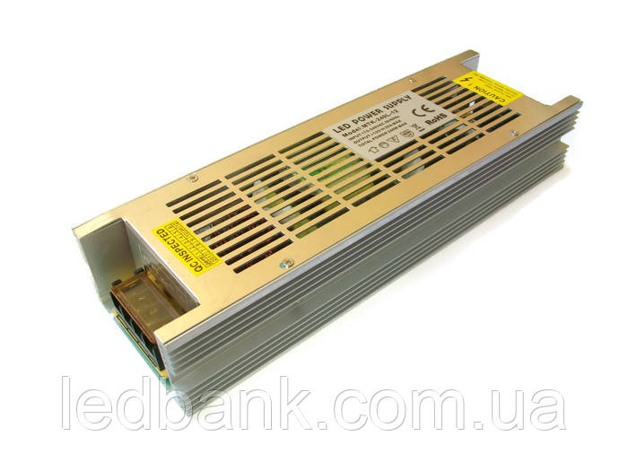 Узкий блок питания для светодиодной ленты MTR- 240W-12V 20A Premium