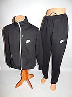 Спортивный костюм мужской Nike реплика весна черный раз. M-XXL