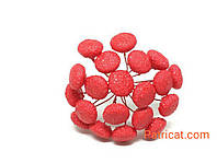 Серединка для цветов пыльник ромашки, хризантемы Красный 5 шт/уп